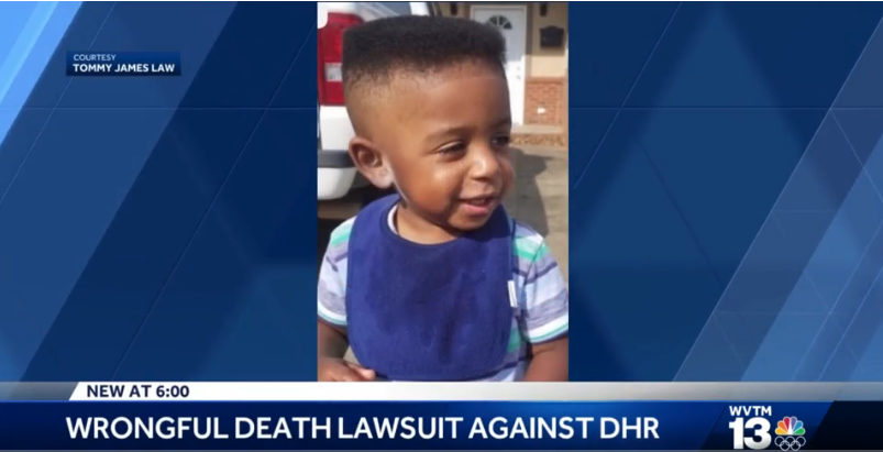 Wrongful death lawsuit filed in death of 2-year-old Center Point child
